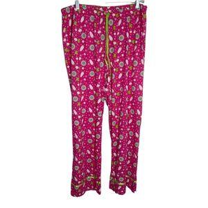 Avenue Womens Pajama Pants Plus Size 18/20 Pink